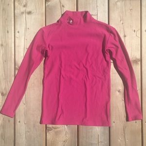 Pink Thermal Under Armour Athletic Long Sleeve
